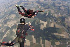 AFF Sprung Skydive Exit