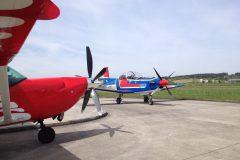 Cessna Soloy 206 D-EJNB und PC9