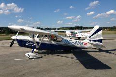 Cessna Soloy 206 D-ETUA mit Decathlon