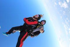 Fallschirmtandemsprung Skydive Exit